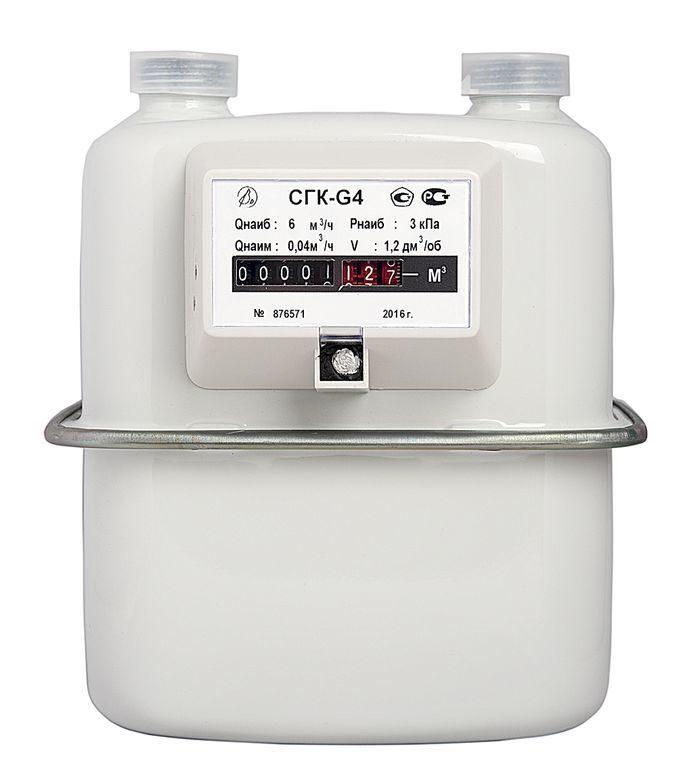 Счетчик газа СГК G2,5